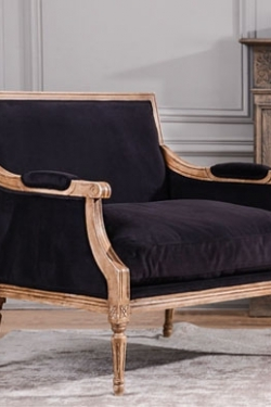 Armchair Small Sofa Italian Reproduction In Louis Xv Style